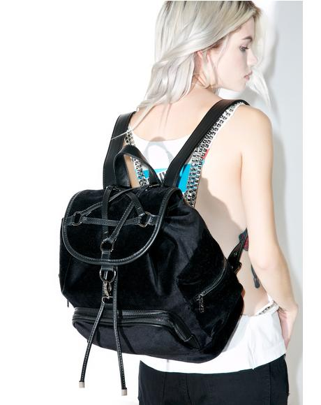 Damsel Velvet Backpack