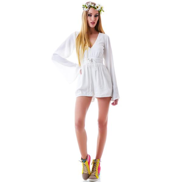 Mink Pink Follow Me To Heaven Playsuit