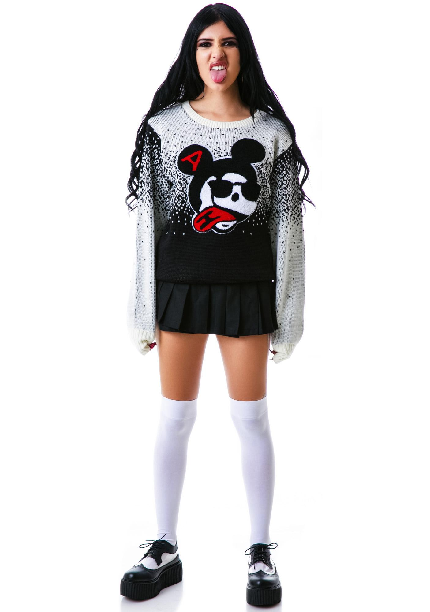 Halfman Romantics Wonderland Crew Knit Sweater