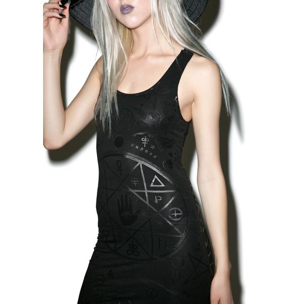 Killstar Cult Strap Dress