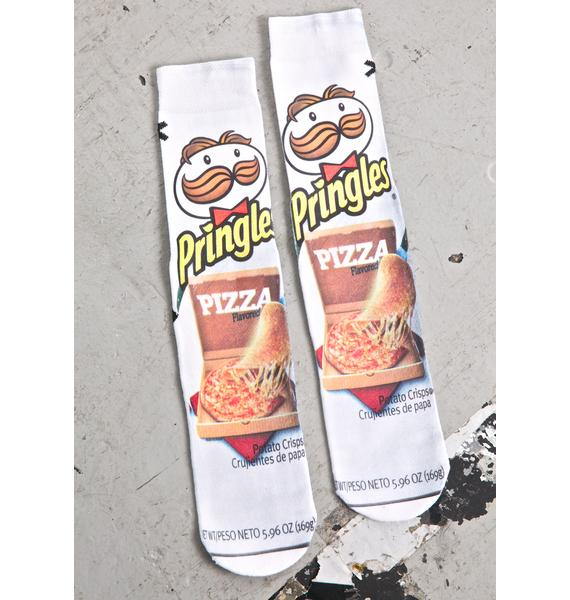 Odd Sox Pizza Pringles Socks