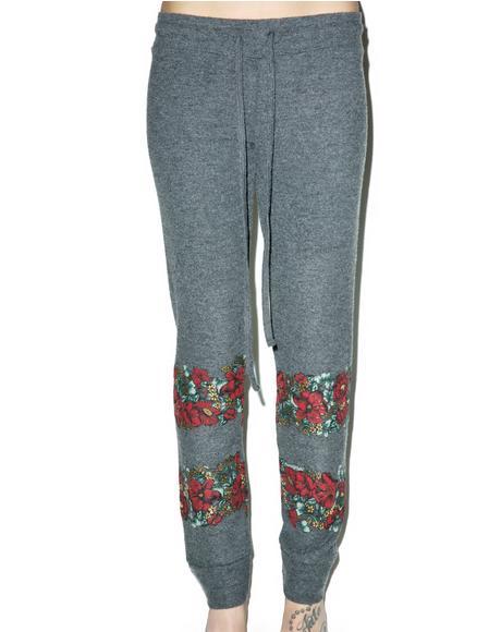 Floral Kizzy Sweatpant
