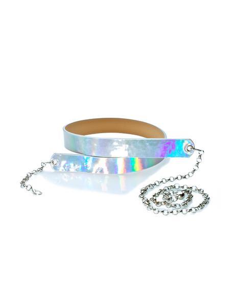 Caelum Holographic Belt