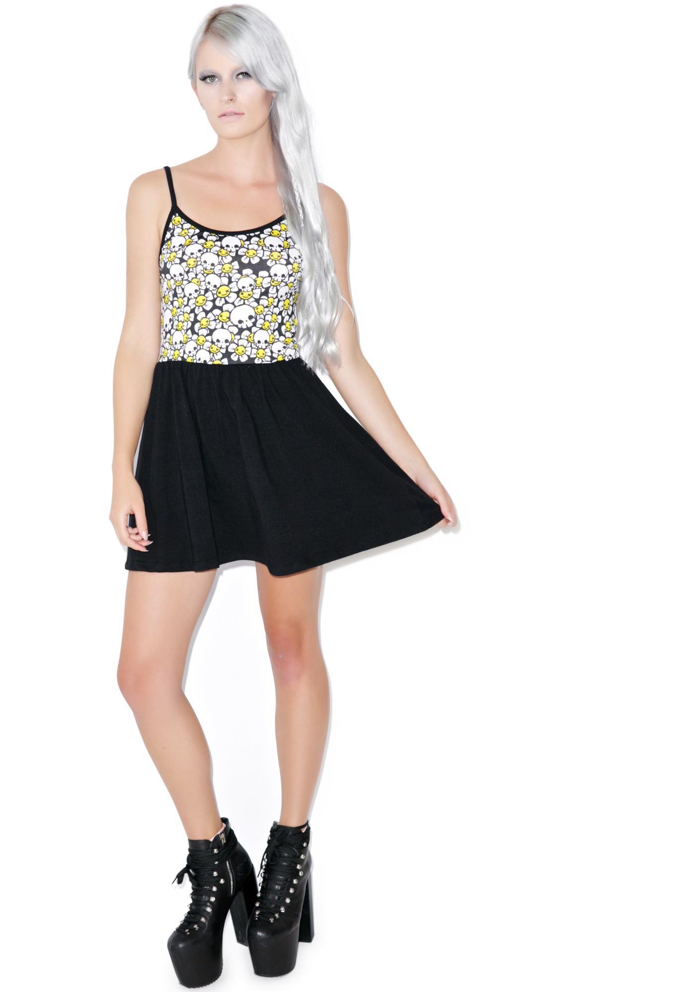Dead Daisy Ballerina Dress