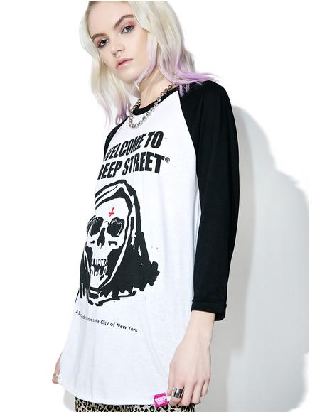 Fear City II Raglan