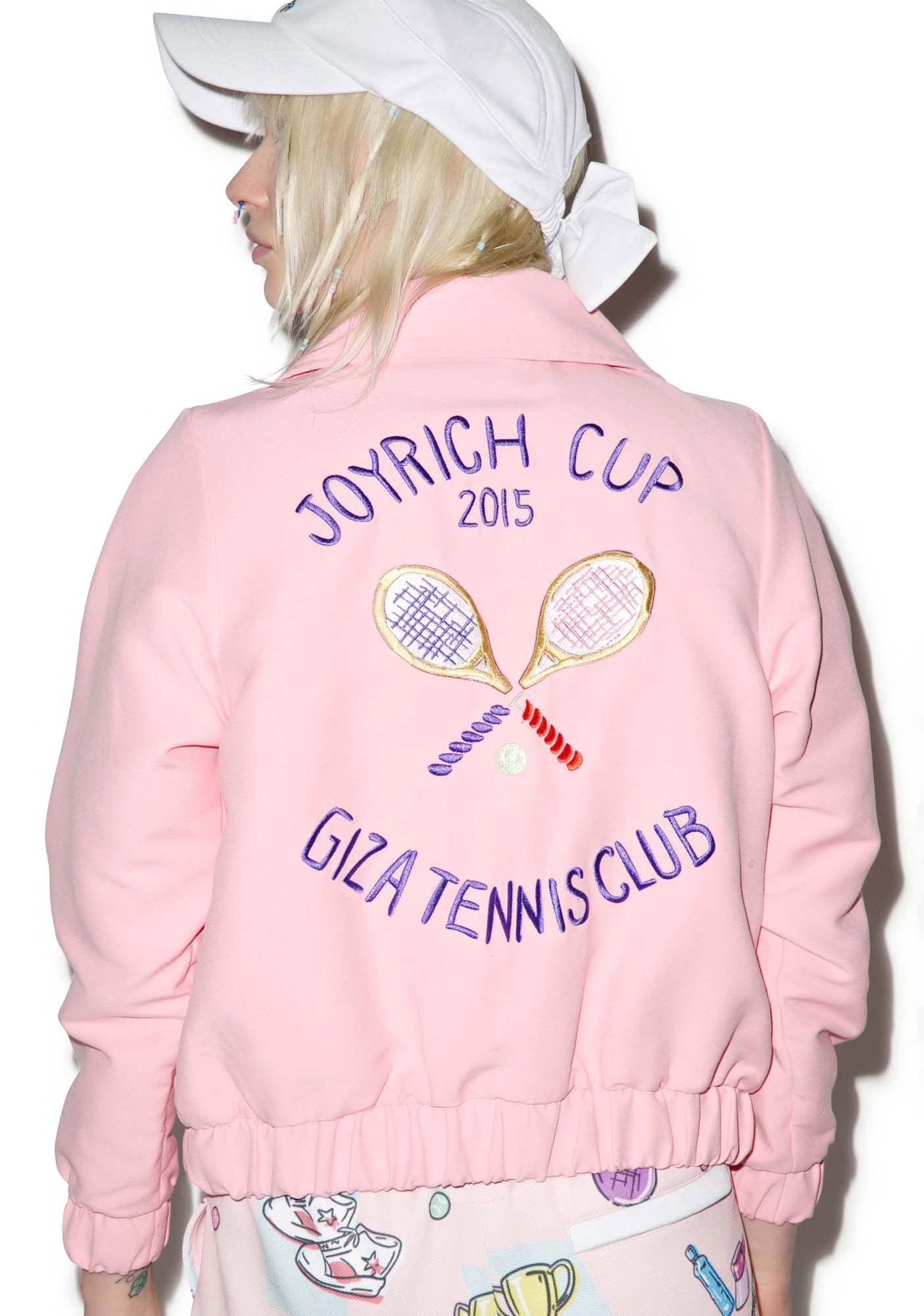 Joyrich X GIZA Tennis Club Cropped Jacket
