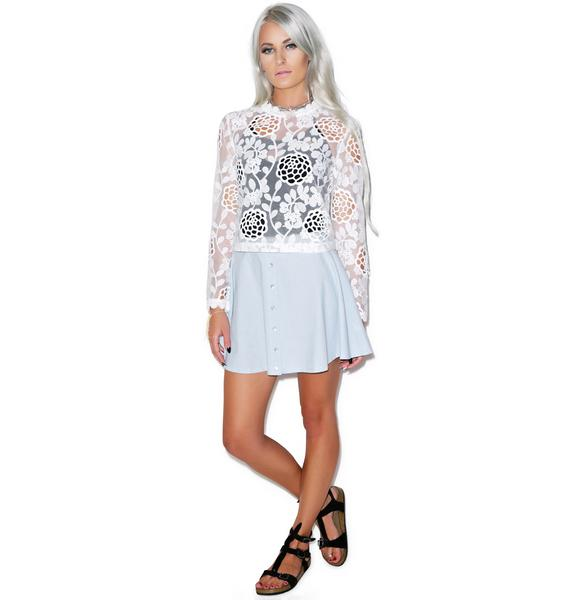Bloomy Daze Lace Top