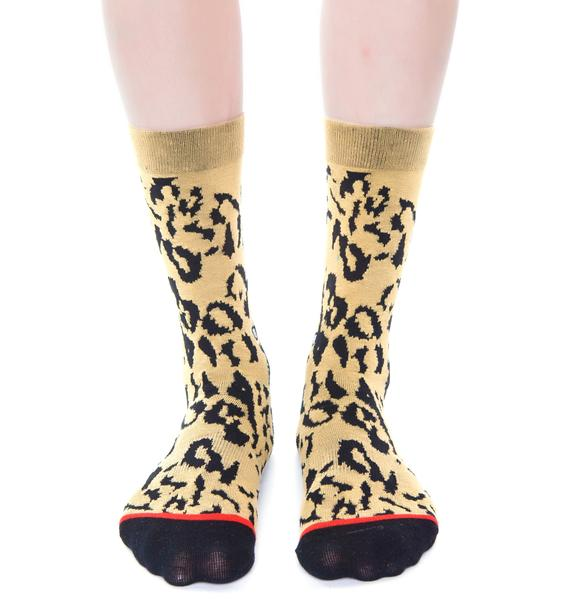 Stance Cheetah Socks
