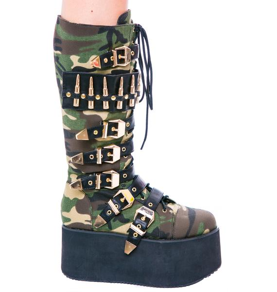Privileged Bully Platform Buckle Boot