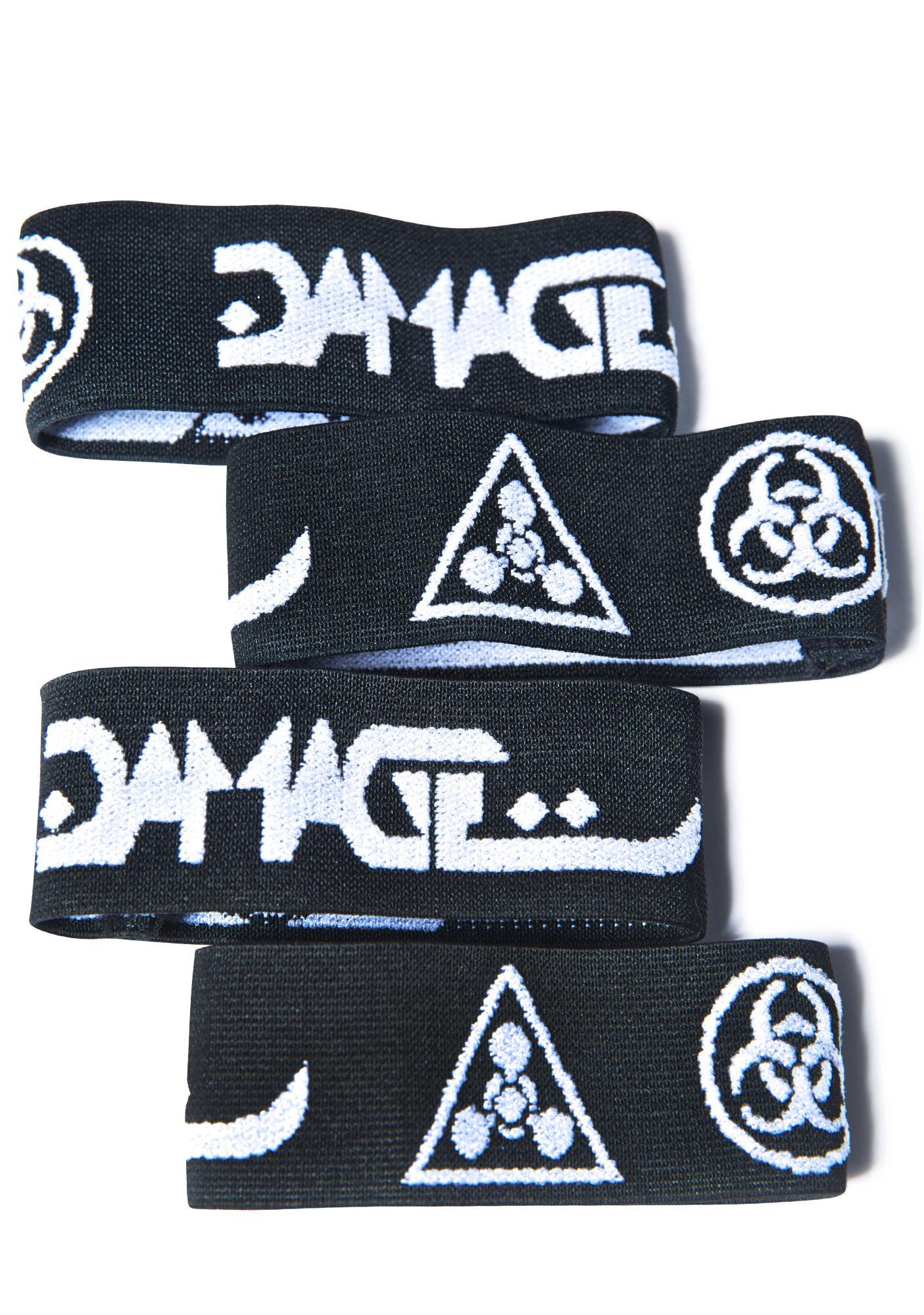 DAMAGE Logo Arm Band Set