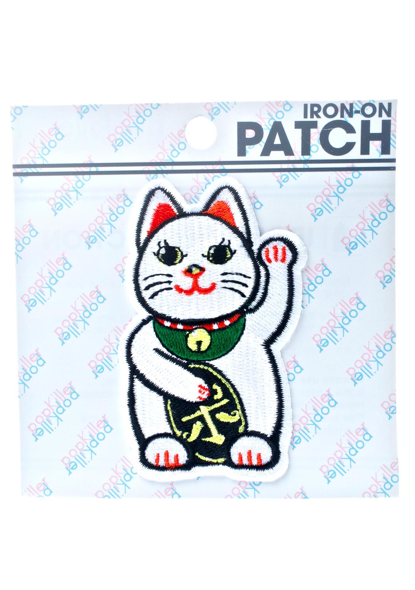 Pop Killer Lucky Cat Patch