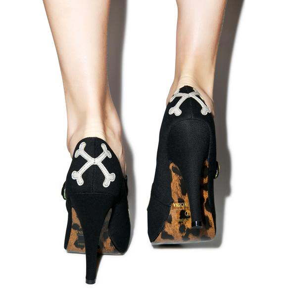 Gris Grimly Mary Jane Pumps