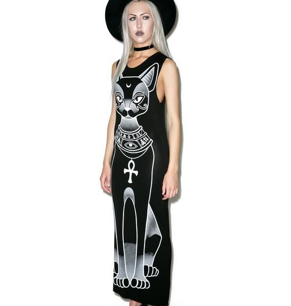 Killstar Bast Maxi Dress