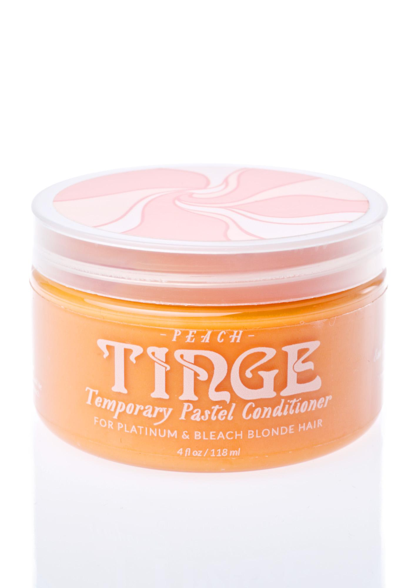 Tinge Pastel Peach Tinge Temporary Color Conditioner