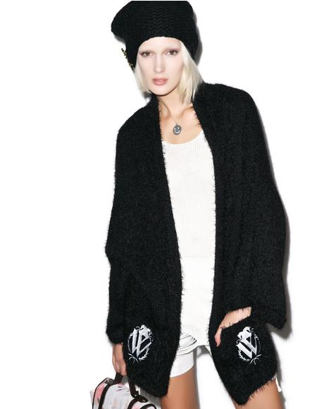Classic Logo Slouch Cardigan