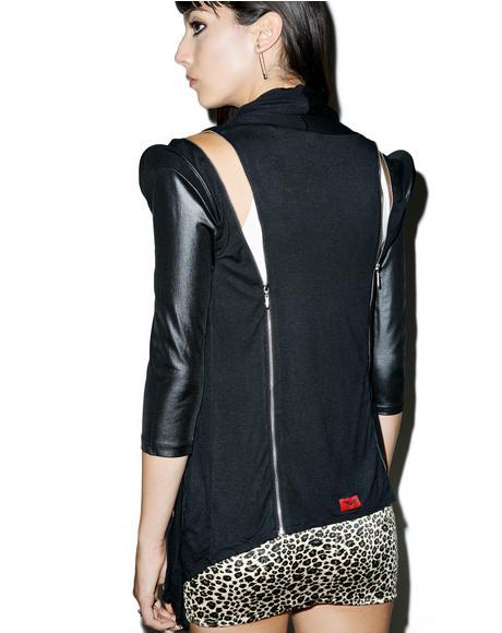 Buffy Vegan Leather Jacket