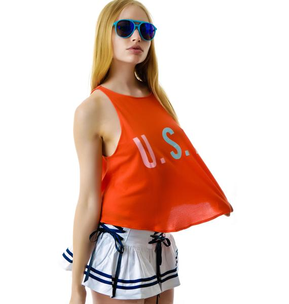 Wildfox Couture Team USA Cassidy Tank