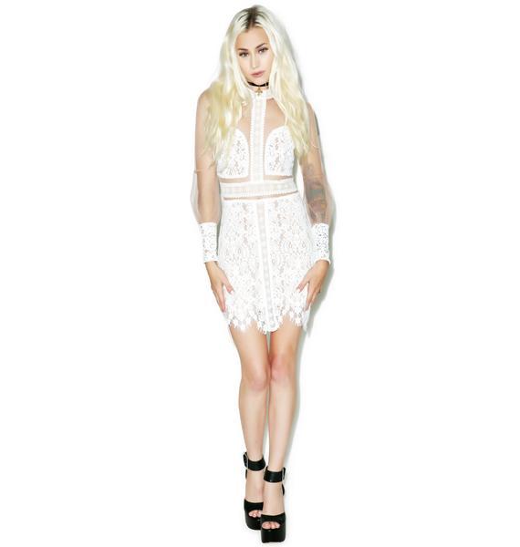 For Love & Lemons Vivian Mini Dress