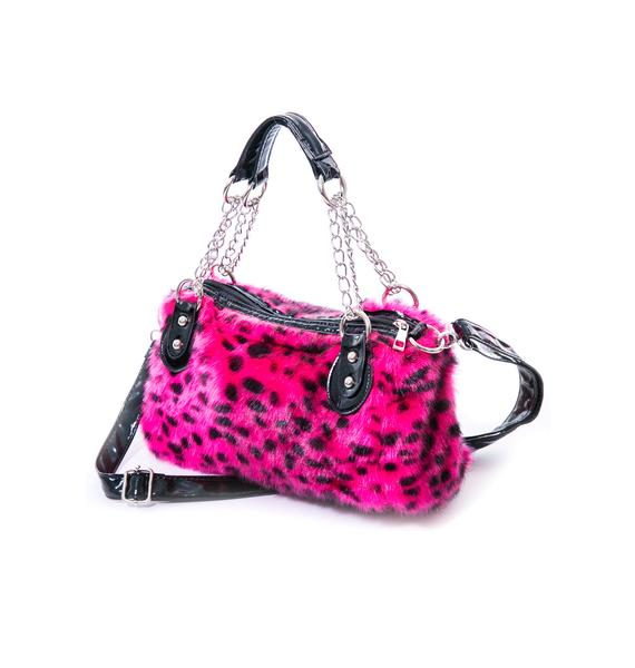 Lil Lazy Leopard Purse