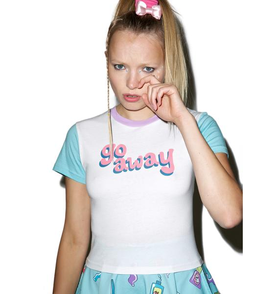 Lazy Oaf Go Away T-Shirt