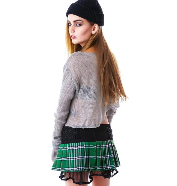 Darla Plaid Mini Skirt