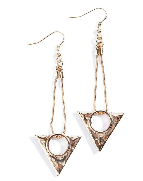 Tripartite Earrings