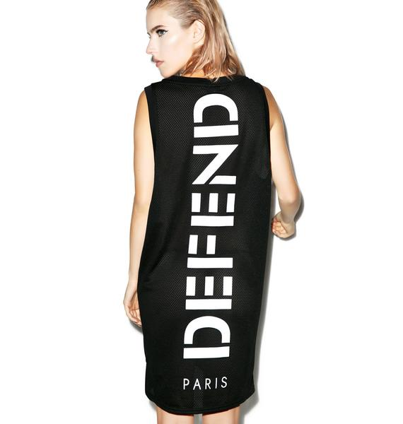 Defend Paris Paris Mesh Long Tank