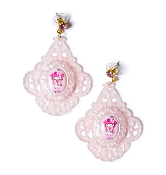 Tarina Tarantino Gothic Lolita Baroque Earrings