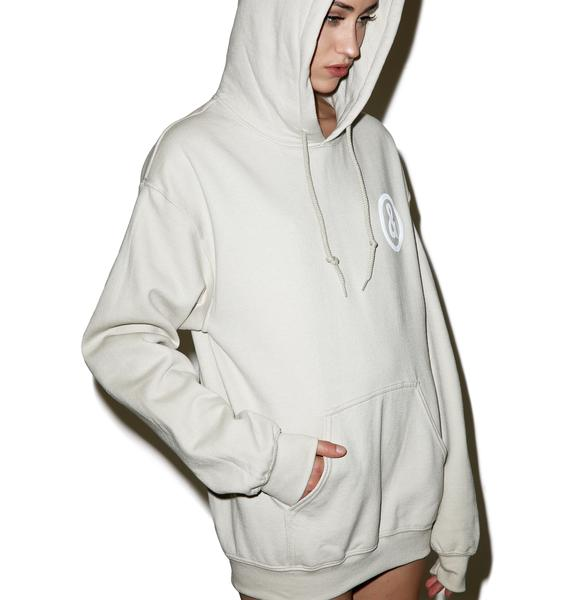Untitled & Co Sand Logo Hoodie