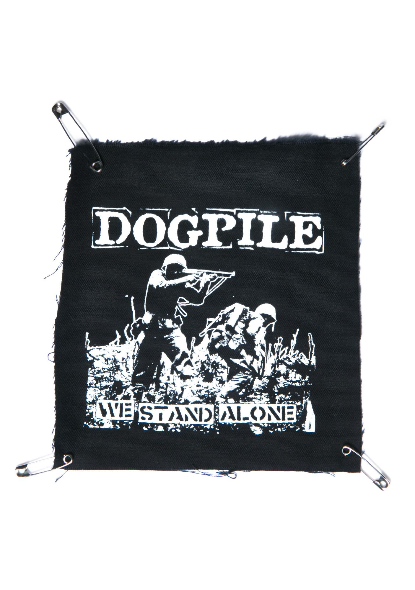 We Stand Alone Patch