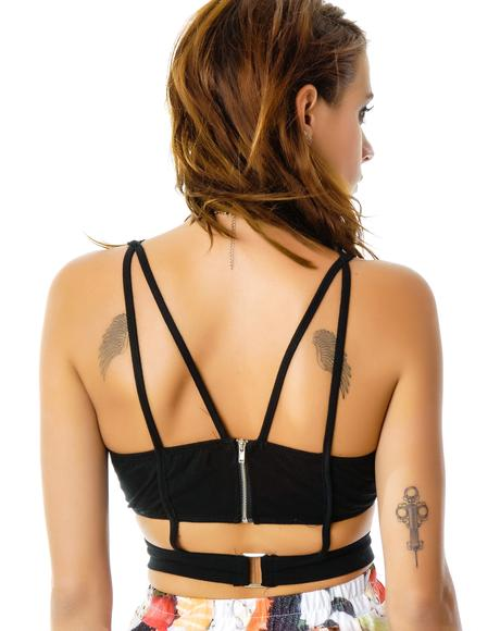 Betty Bodice Caged Bustier