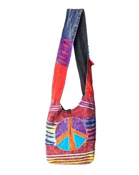 Peace, Love and Tie Dye Bag