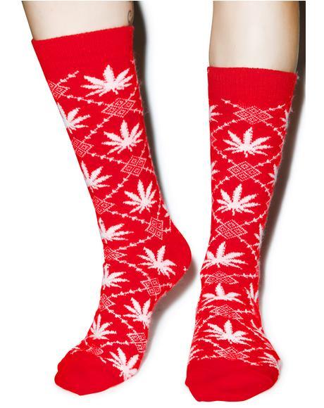 Angora Nordic Socks