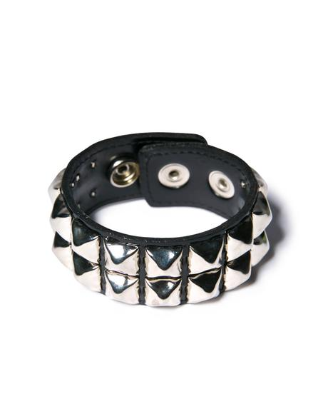 Haunted Dream Double Studded Bracelet