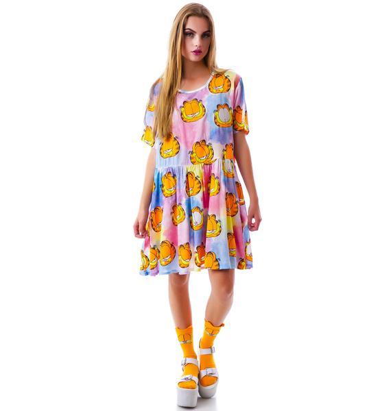 Lazy Oaf x Garfield Nine Lives Dress