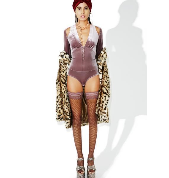 Pietra Velvet Bodysuit