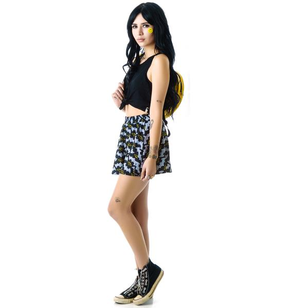 Zara Terez Batman Skater Skirt
