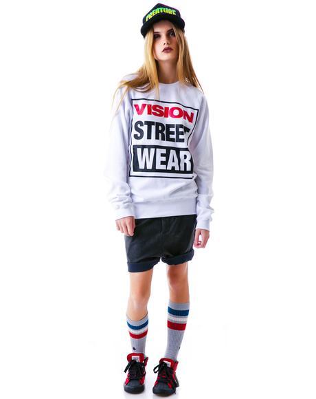 Vision Street Wear Logo Sweatshirt