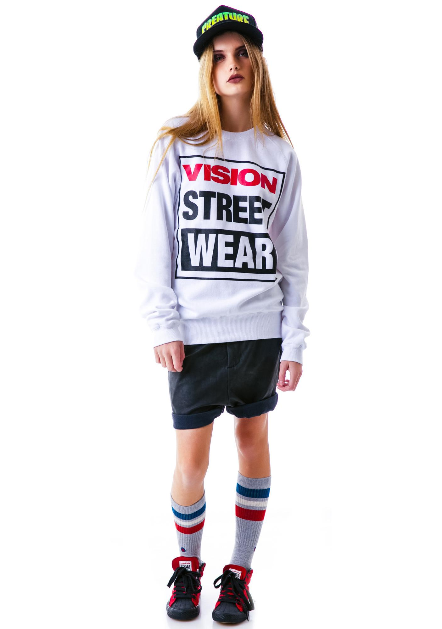 Vision Street Wear Vision Street Wear Logo Sweatshirt