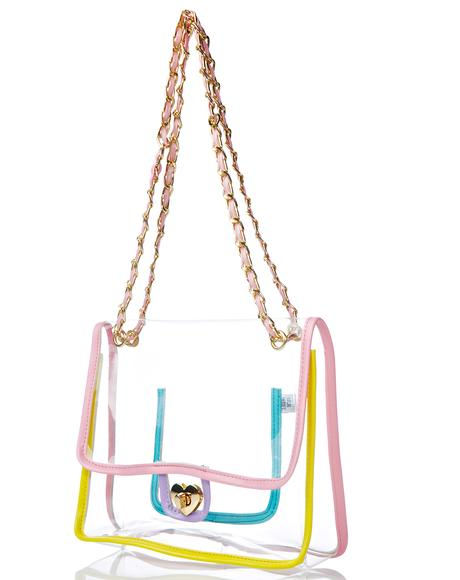 Rainbow Transparent Purse