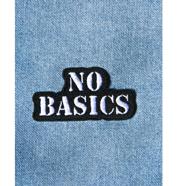 No Basics Patch