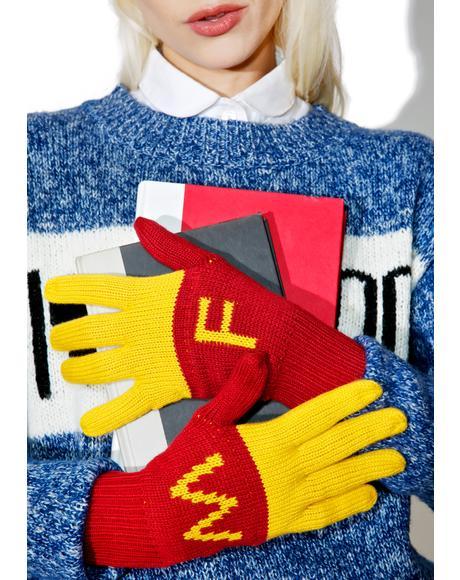Super Fries Finger Food Gloves