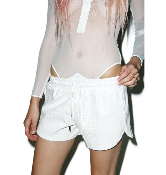 Brilliant Dynamic Perforated Shorts