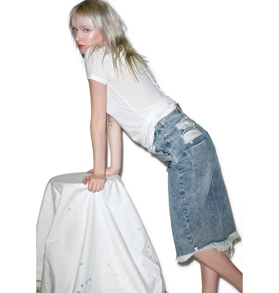 One Teaspoon St Marine Cadillac Skirt