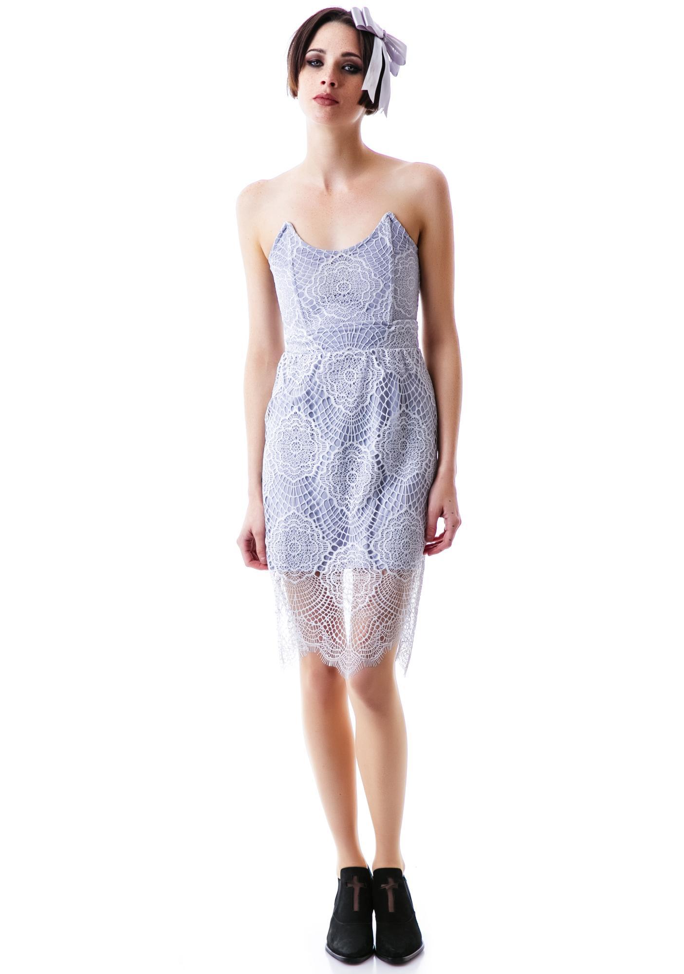 For Love & Lemons Black Swan Dress