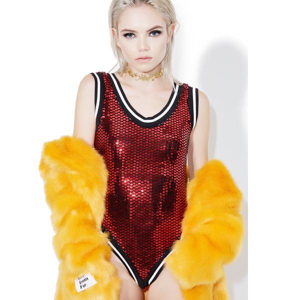 Feelin' You Sequin Bodysuit