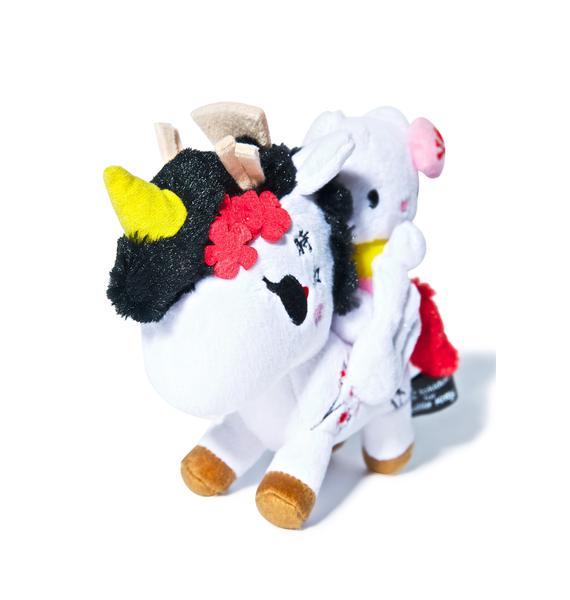 """Tokidoki x Hello Kitty Sakura Unicorno 5"""" Plush"""