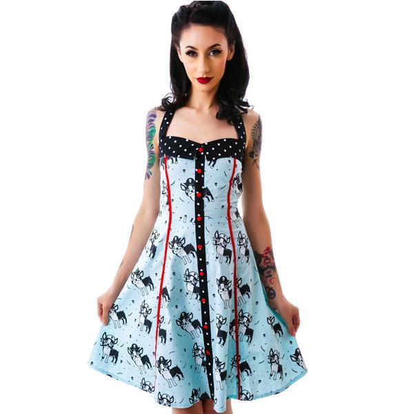 Sourpuss Clothing Peggy Puppies Dress