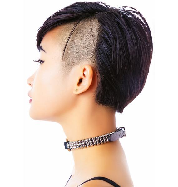 Club Exx Folsom Round Studded Necklace