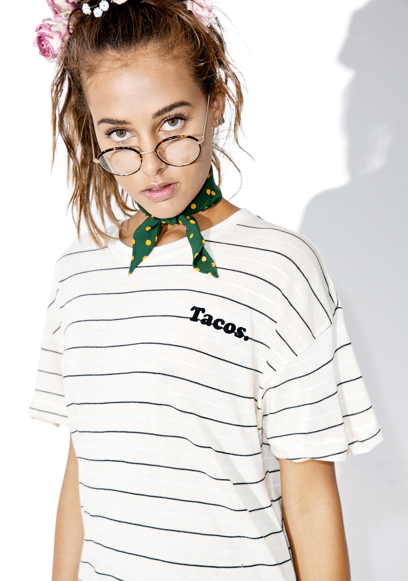 Wildfox Couture Tacos Sonic Tee